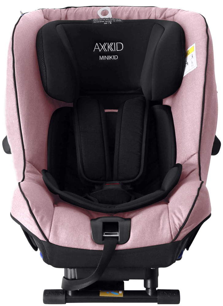 bilbarnstol-minikid2018-pink